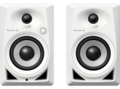 "Pioneer DM-40-W 4"" Desktop Monitor Speakers (Pair)- White"