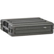SKB 1SKB-R2S 2 Rack Unit Roto Molded Shallow Rack Case