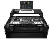 Odyssey Roland DJ-808 Serato Black Lable Glide Style Series Case With A Bottom 19 Inch 2U Rack Space