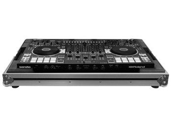 FZRODJ808 ROLAND DJ-808 SERATO DJ CONTROLLER CASE FLIGHT ZONE LOW PROFILE SERIES
