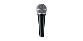 Shure Cardioid dynamic vocal microphone - XLR-XLR cable