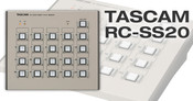 Tascam RC-SS20 Direct Play Remote For Sscdr200, Ssr200, Hs8, Hdr1