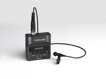 Tascam DR-10L Mini Portable Recorder With Lavaliere Microphone