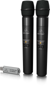 Behringer ULM202USB 2.4 GHz DW Dual Mics-USB Rcvr