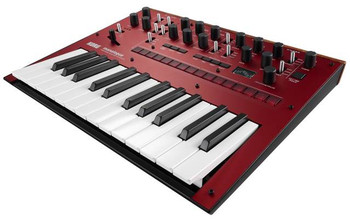 Korg Monologue Portable Monophonic Analog Synthesizer Red