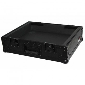 ProX Universal 1200 Style Turntable case BLACK on BLACK