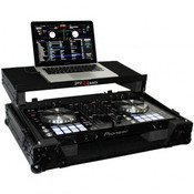 ProX Pioneer DDJ-RR / SR Case BLACK ON BLACK w/ Sliding Laptop Shelf