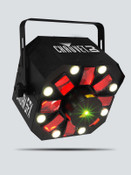 CHAUVET DJ Swarm 5 FX 3-in-1 Effect Light w/Lasers, Strobe, & RGBAW Rotating Derby