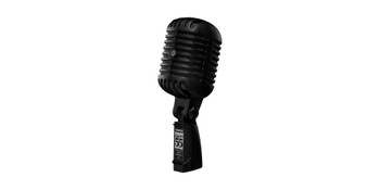 Shure Super 55 Deluxe Vocal Microphone Pitch Black Editio