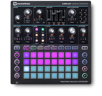 Novation Peak Eight-Voice Analog Desktop Synthesizer