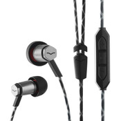 V-Moda Forza Metallo In-Ear Headphones (Black / IOS)