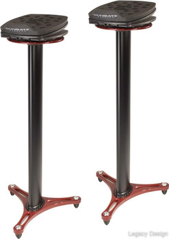 Ultimate Support MS-100R Professional Column Studio Monitor Stand (pair)