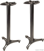 Ultimate Support MS-90/36B Professional Column Studio Monitor Stand with Non-marring Decoupling Pads and Three Internal Channels - 36 inch/Black