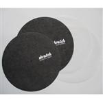 Stokyo Skratch 12-Inch Slipmats (Pair) W/ 2 X Slipsheets By Dr. Suzuki