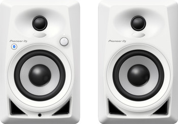 Pioneer DM-40BT-W 4-Inch Desktop Monitor Speakers (White)