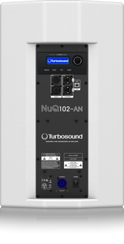 Turbosound NuQ102-AN-WH Powered Speaker