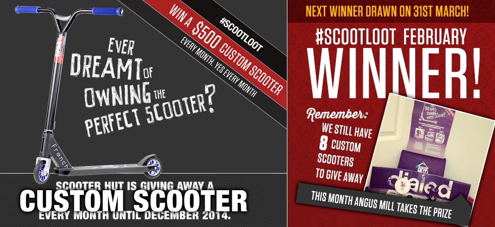 Scoot loot february winner announced