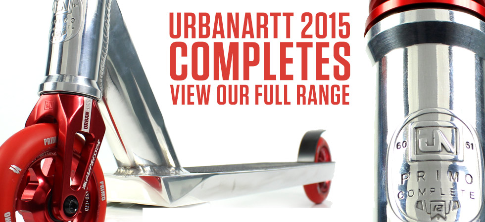 UrbanArtt Complete Scooters new for 2015!