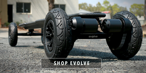 Shop evolve electric skateboards