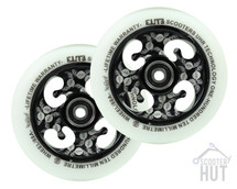 Elite Scooters UHR Sig Wheels | 110mm | White