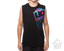 LKI Descend Muscle Tank Youth | Black