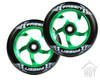 Fasen Raven 110mm Wheels | Green