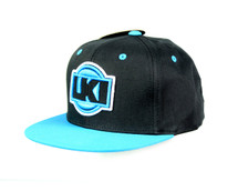 LKI Digital Snapback Cap | Blue