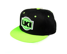 LKI Digital Snapback Cap | Green