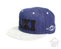 LKI Domain Snapback Cap | Blue Domain