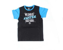LKI Dads Faster Tee | Blue | Kids