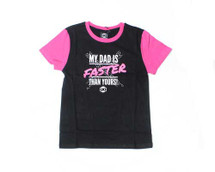 LKI Dads Faster Tee | Pink | Youth