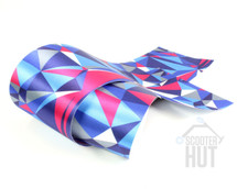 BarWraps v2.0 Geometric | Blue / Grey / Pink