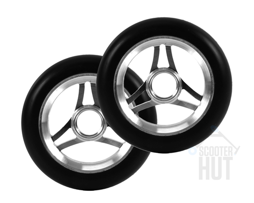 Aztek Trilogy 110mm Wheels | Black / Raw