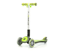 Globber My Free FOLD UP | w/ Flashing LED Lights | 3-Wheel Kids Scooter