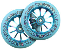 Ride858 Slik Riks 120mm Wheels | Kal Chandler Signature