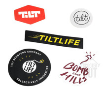 Tilt Stickers | 5 Pack