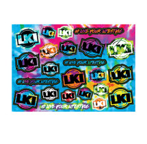 LKI A5 Sticker Sheet | Descend