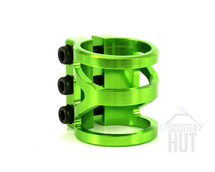 Lucky V3 Triple Clamp | Green
