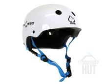 Protec Classic Junior Bike Helmet | Gloss White