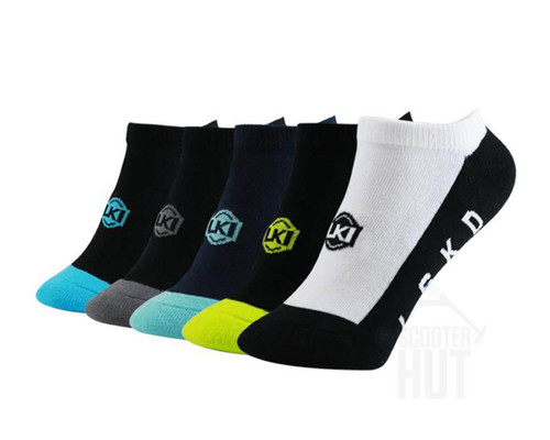 LKI Disorder Ankle Socks | Assorted | Youth | 5 Pack