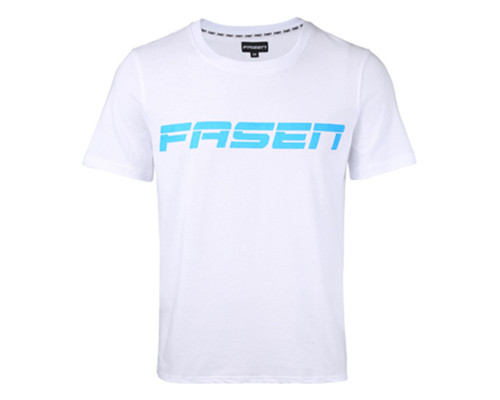 Fasen Block T-Shirt | White