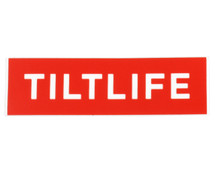 Tilt Tilfelife Sticker | Red