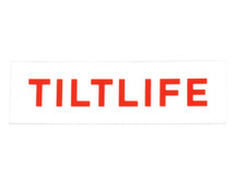 Tilt Tilfelife Sticker | White