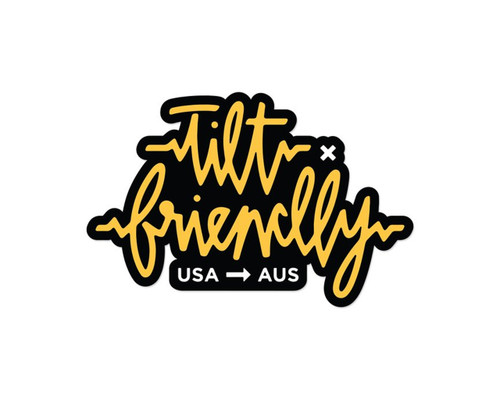 Tilt x Friendly Sticker