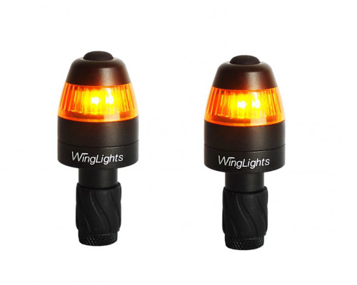 WingLights Bar End Indicators | Magnetic