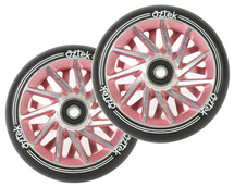 Aztek Ermine XL Wheels | 115mm x 30mm | Ruby | Pair