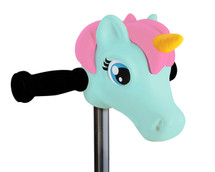 ScootaHeadz Kids Bar Accessories | Elsa Unicorn | Mint