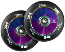 Drone XR-2 110mm Wheels | Pair | Black\Neo