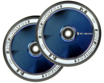 Root Industries AIR 120mm Wheels | Specialty | Black PU | Pair | Blu-Ray