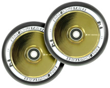 Root Industries AIR 120mm Wheels | Specialty | Black PU | Pair | Gold Rush